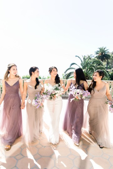 Lush Lavender Bel Air LA Wedding – Hanh Nguyen 12