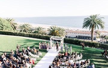 Lush Lavender Bel Air Wedding