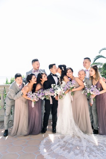 Lush Lavender Bel Air LA Wedding – Hanh Nguyen 21