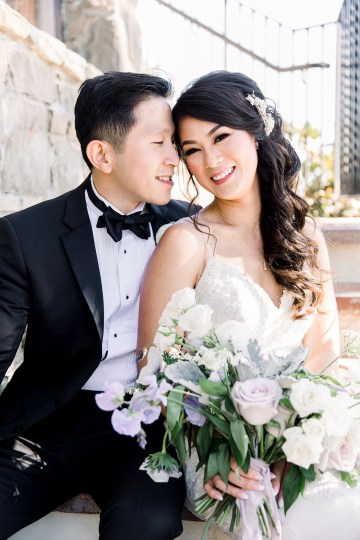 Lush Lavender Bel Air LA Wedding – Hanh Nguyen 25