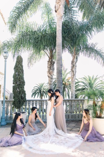 Lush Lavender Bel Air LA Wedding – Hanh Nguyen 7