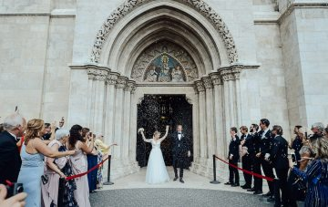 Practically Royal Classic Budapest Cathedral Wedding