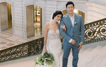 Elegant San Francisco City Hall Elopement Inspiration