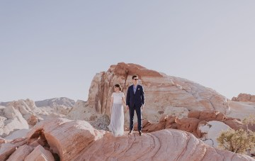 Urban Meets Desert Nevada Destination Elopement