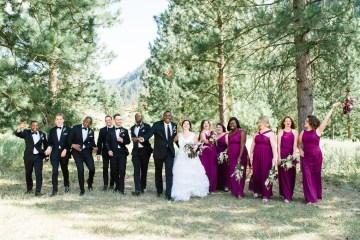 Whimsical Forest Lodge Congolese American Wedding – Honeybee Weddings 31