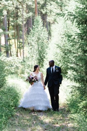Whimsical Forest Lodge Congolese American Wedding – Honeybee Weddings 34