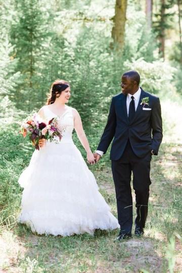 Whimsical Forest Lodge Congolese American Wedding – Honeybee Weddings 35