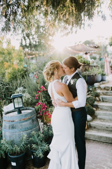 Eclectic San Diego Garden Wedding – Barrels and Branches – Lets Frolic Together 34