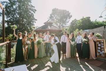Eclectic San Diego Garden Wedding – Barrels and Branches – Lets Frolic Together 43