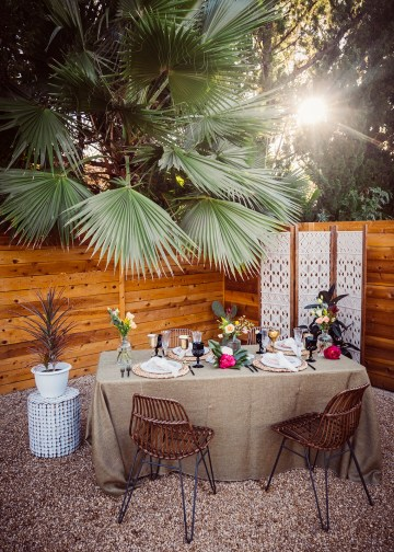 How to Decorate A Tropical Wedding for Your Home or Backyard – Light and Space – Bright Bird Photography 36