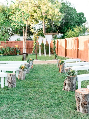 Intimate Summer Cottage Wedding – Rachel Ann Media 1