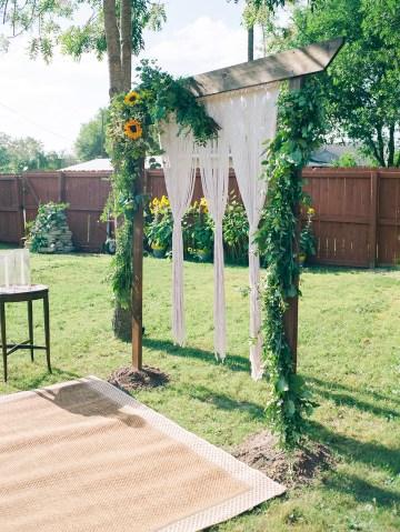 Intimate Summer Cottage Wedding – Rachel Ann Media 2