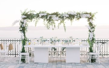 A Gorgeous Greek Wedding Six Years In The Making