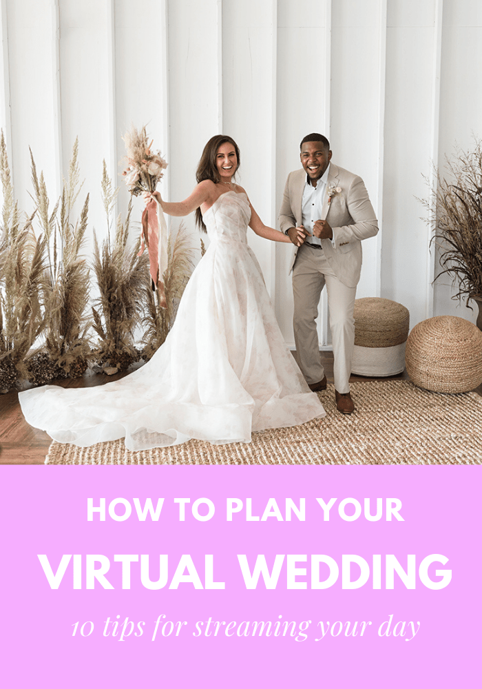 Virtual Wedding Guide 10 Tips For Streaming Your Wedding Online