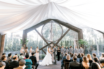 Rustic and Ethereal Calamigos Forest Wedding – Tracy Rinehart 3