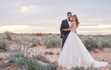 Wedding Postponed? Plan A Bridal Photoshoot (Plus, Romantic Dresses We Love!)