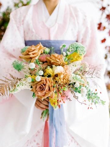 Modern Korean Wedding Inspiration – lilelements – Anadena Photography 11