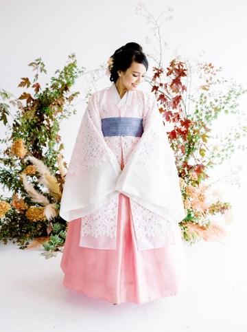 Modern Korean Wedding Inspiration – lilelements – Anadena Photography 12