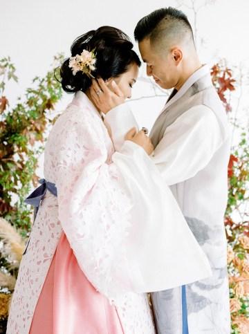 Modern Korean Wedding Inspiration – lilelements – Anadena Photography 19