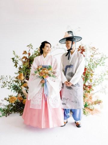 Modern Korean Wedding Inspiration – lilelements – Anadena Photography 20