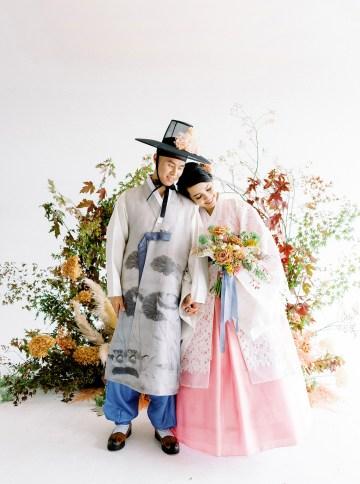 Modern Korean Wedding Inspiration – lilelements – Anadena Photography 21