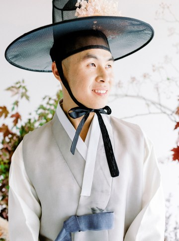 Modern Korean Wedding Inspiration – lilelements – Anadena Photography 22