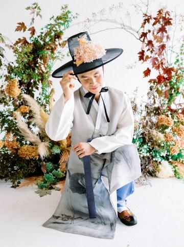Modern Korean Wedding Inspiration – lilelements – Anadena Photography 23