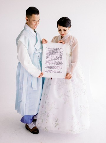 Modern Korean Wedding Inspiration – lilelements – Anadena Photography 56