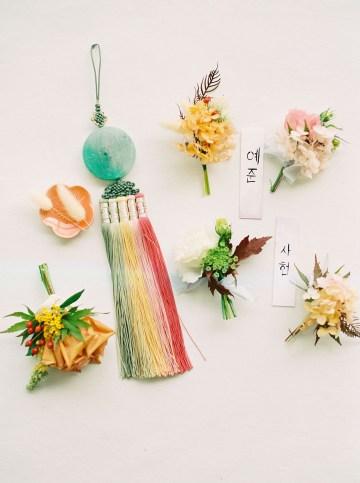 Modern Korean Wedding Inspiration – lilelements – Anadena Photography 64