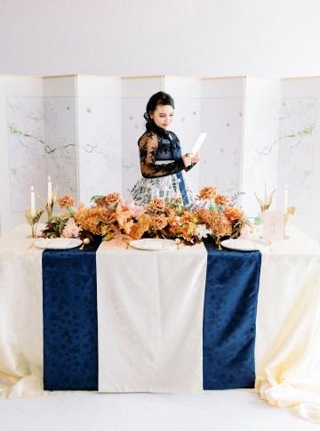 Modern Korean Wedding Inspiration – lilelements – Anadena Photography 73