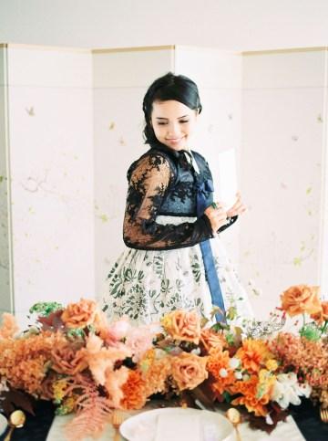Modern Korean Wedding Inspiration – lilelements – Anadena Photography 78