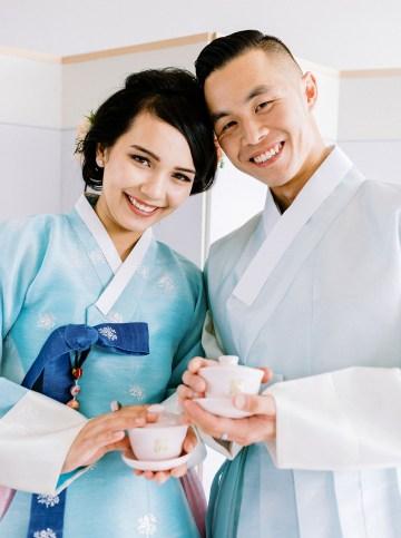 Modern Korean Wedding Inspiration – lilelements – Anadena Photography 81