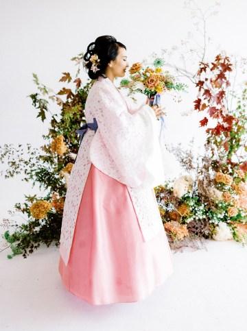 Modern Korean Wedding Inspiration – lilelements – Anadena Photography 9