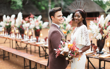 With Love From Zambia Part 2: Rustic African Boma Wedding Inspiration