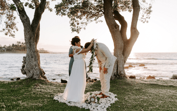 Hawaiian Babymoon Turned Secret Elopement