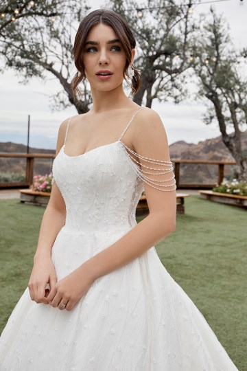 Casablanca Bridal Off-the-shoulder Wedding Dresses – Bridal Musings – 2432 – Julianna 1