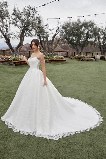 Casablanca Bridal Off-the-shoulder Wedding Dresses – Bridal Musings – 2432 – Julianna 2