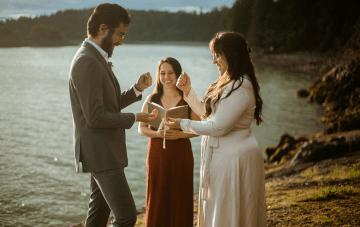 Intimate Alaska Summer Solstice Elopement