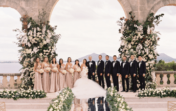 Luxurious Fairytale Mallorca Destination Wedding