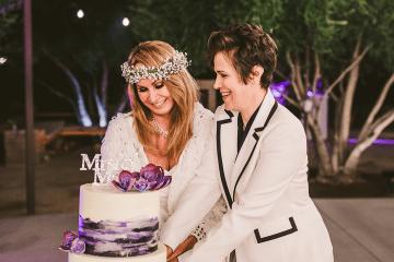 Stylish Same-Sex Palm Springs Wedding – Colony 29 – Ryan Horban Photography 16