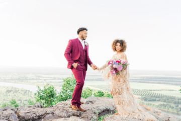 Bright and Colorful Arkansas Wedding Inspiration – Sopheak Smith Photography 1