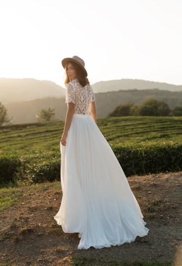 Feminine Simple Minimalistic Wedding Dresses by Mila Bridal 2020 2021 – Bridal Musings 24