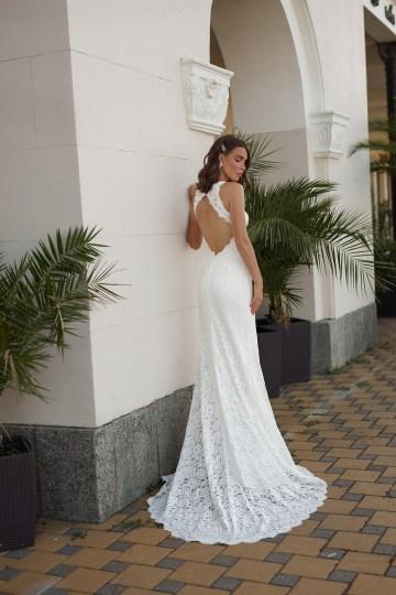 Feminine Simple Minimalistic Wedding Dresses by Mila Bridal 2020 2021 – Bridal Musings 50