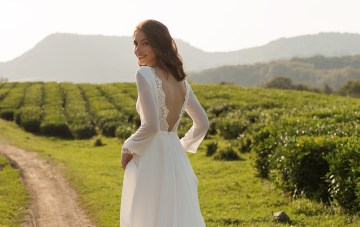 Mila Bridal's Feminine & Minimalist Wedding Dress Collection
