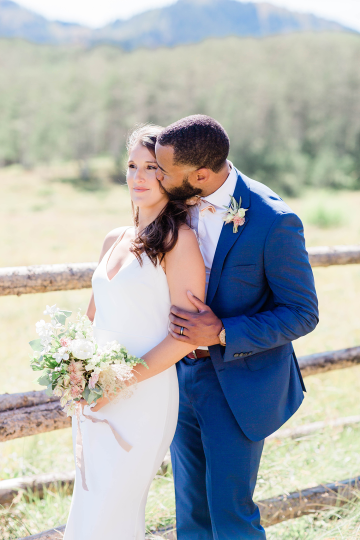Intimate Enchanting Forest Elopement in Park City Utah – Gabriella Santos Photography 37