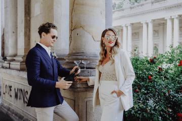 Stylish Berlin Elopement Inspiration – Anastasia Conze Weddings and Events – Adela Dupetit von O Dear 2