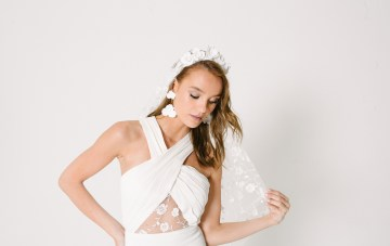 Les Aimants Brings French Cool-Girl Dresses To The American Bridal Scene