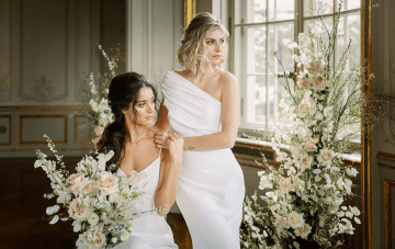 Miss Universe Germany Stuns In This Castle Wedding Inspiration