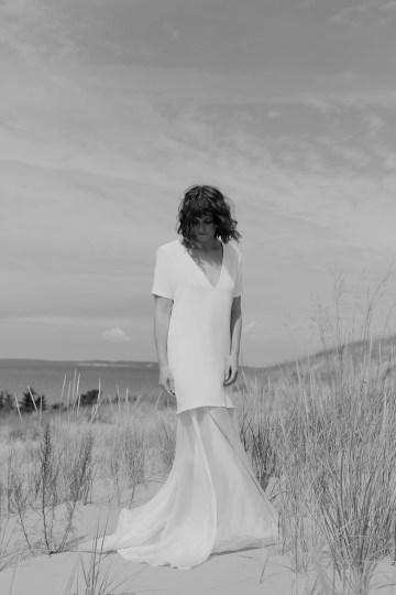 Modern and Fashion Forward 2021 Wedding Dresses by The LAW Bridal – Grey