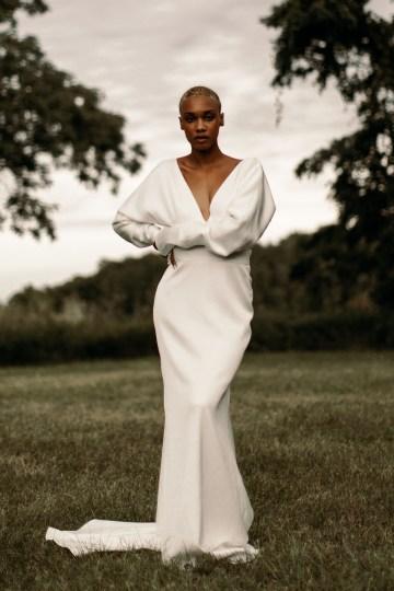 Modern and Fashion Forward 2021 Wedding Dresses by The LAW Bridal – Whitney